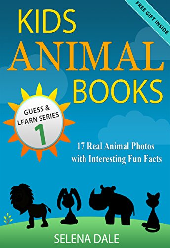 Kids Animal Books - 17 Real Animal Photos With Interesting