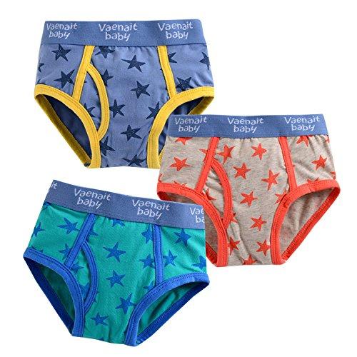 Jojobaby Toddler 2T 7T 3 pack Underwear