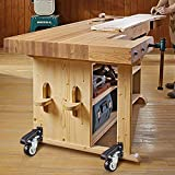 SPACECARE Workbench Casters kit 800Lbs Heavy Duty