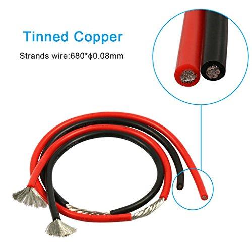 Bntechgo 12 Gauge Silicone Wire Ultra Flexible 10 Feet