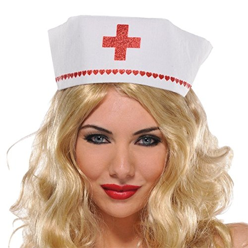Nurse Hat Costume Accessory]()