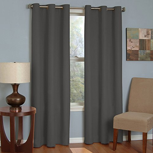 ECLIPSE Blackout Curtains for Bedroom - Microfiber 42