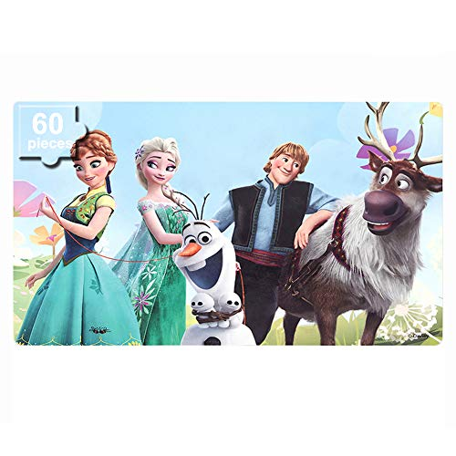 Floor 4 100 Floors Halloween (NEILDEN Disney Frozen Puzzles in a Metal Box 60 Piece Jigsaw Puzzle for Kids Ages 4-8 Puzzles for Girls and Boys Great Gifts for Children ( Frozen)