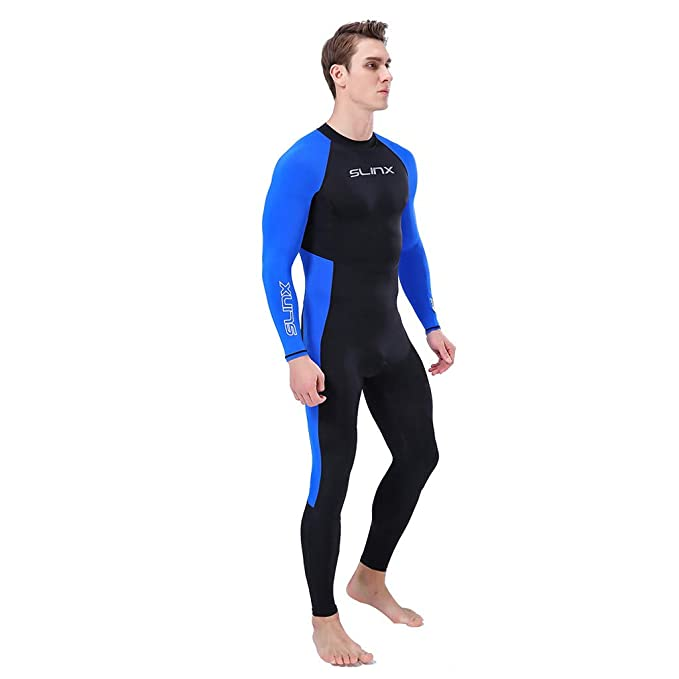 Amazon.com: Men Full Body Wetsuit UPF50+ Long Sleeves ...