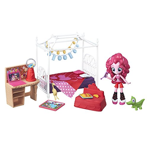 My Little Pony Equestria Girls Minis Pinkie Pie Slumber Party Bedroom Set (Bed Mini Set)