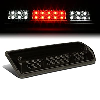 Tinted Housing Dual Row LED 3rd Third Tail Brake Light Cargo Lamp Replacement for Ford F150 Lobo Lincoln Mark LT 06-08: Automotive