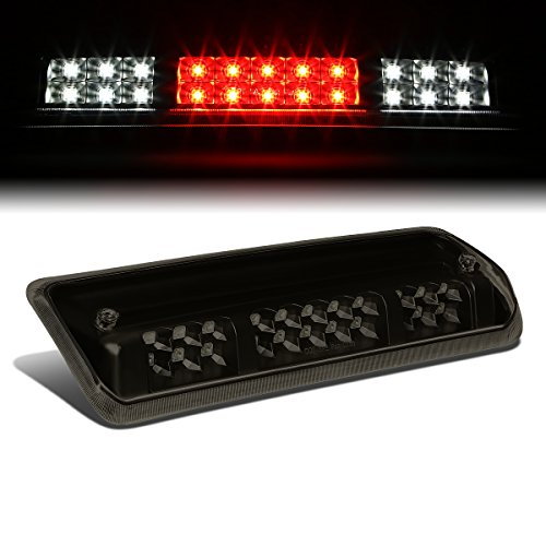 For Ford F150 11th Gen/Lincoln Mark LT High Mount Dual Row LED 3rd Brake/Cargo Light (Black Housing Smoke Lens)