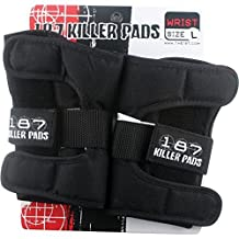 187 Killer Pads Black Wrist Guards - Medium by 187 Killer Pads