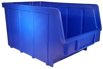 26 Stuck Stapelboxen Blau Gr 3 145 X 248 X 127 Mm Kunststoff Pp