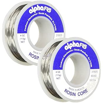 Alpha Metals #am31605 4oz.032elec Lead Solder … (2 Pack)