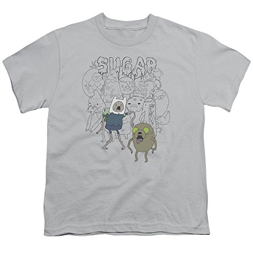 Shirt Youth Time Adventure Tee Zombies Silver Sugar wHZqB