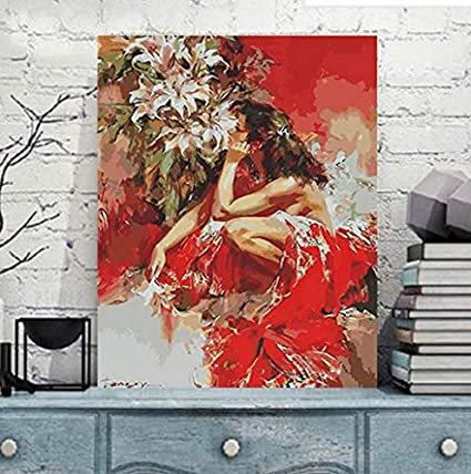 1pcs No Frame Canvas Wall Art Beautiful Pictures Paint On Canvas Painting For Home