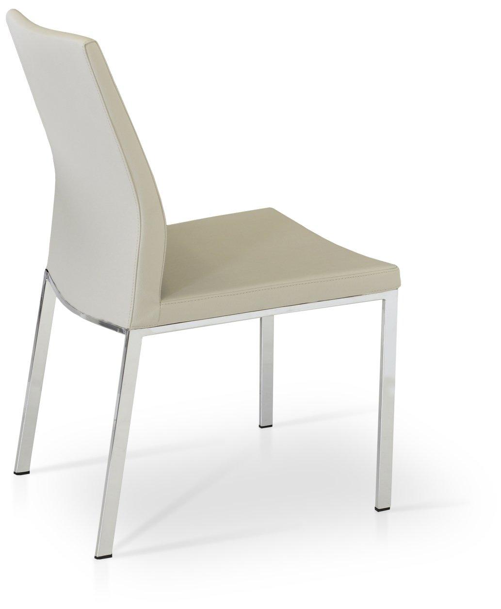 Amazon.com: Soho Concept PashaC-Ch-Blk Pasha Low Back Chair ...