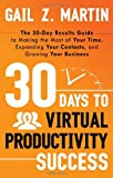 30 Days to Virtual Productivity Success, Gail Z. Martin, 1601632266