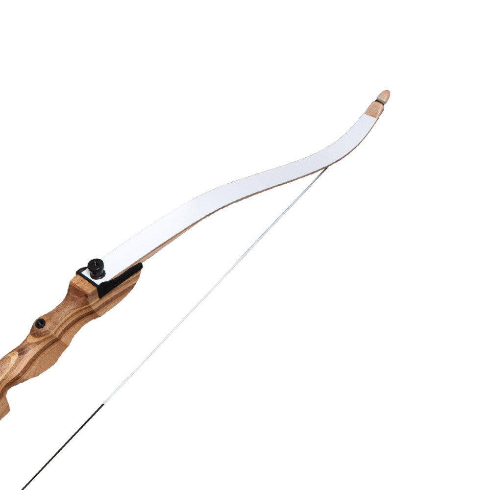 Southland Archery Supply SAS Spirit 62'' Take Down Recurve Bow Limb Only - Black (White, 26 lbs.) by Southland Archery Supply