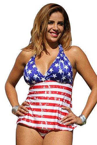 American Vintage Open-Back Tankini - Top, Bottom or Set