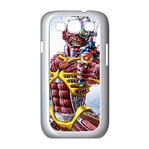 Samsung Galaxy S3 9300 Cell Phone Case White Iron Maiden emxk