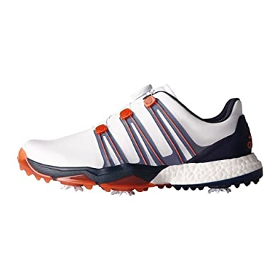 lowest price c8aee b2405 adidas Powerband Boa Boost WD, Chaussures de Golf Homme  Amazon.fr   Chaussures et Sacs