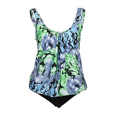 Mr.Macy Plus Size Swimwear,Bathing Suits for Women Two Piece?Bandage Push-up Padded Bikini High Waist Bikini Yellow-Black