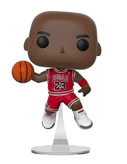 09ec69e7433 Amazon.com: NBA Bulls Michael Jordan Pop! Vinyl Figure: Toys & Games