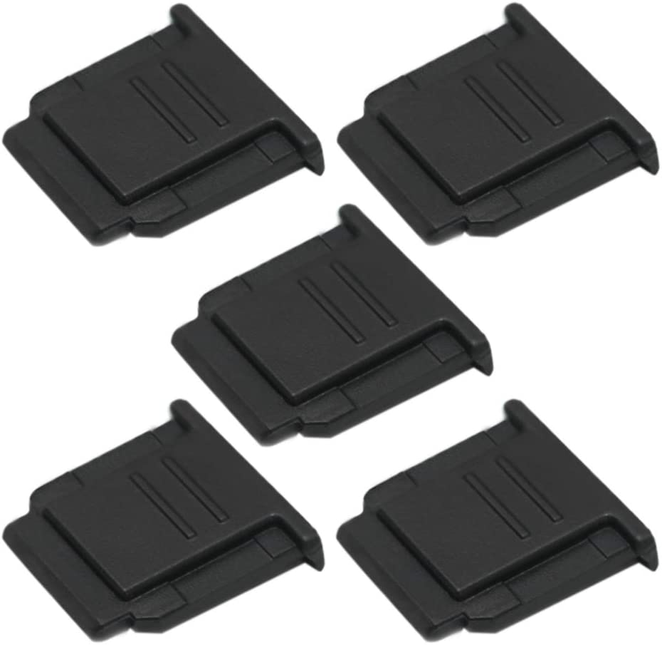 3-Pack VKO Hot Shoe Cover Hot Shoe Cap Hot Shoe Protector Compatible with Sony A6100 A6600 A7III A6500 A6400 A6300 A6000 A77II A7II A7RII A7RIII A7RIV A7SII RX1RII RX10II RX100II Replaces FA-SHC1M