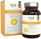 Best D3s - Viva Naturals Vitamin D3 1000 IU, 360 Softgels Review