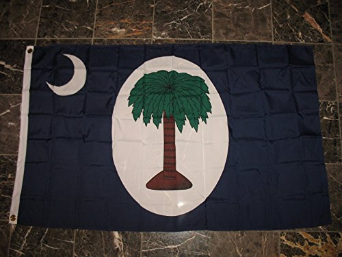 3x5 South Carolina Palmetto 2 Days Civil War 1861 Flag 3'x5'
