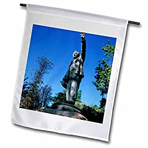 Danita Delimont - Statues - Africa, South Africa, Capetown. Cecil Rhodes statue-AF42 NWH0003 - Nik Wheeler - 18 x 27 inch Garden Flag (fl_75257_2)