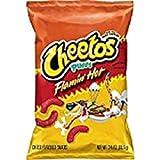 Cheetos Flamin' Hot Puffs Cheese Snacks (3.38 oz. ea., 18 ct.)