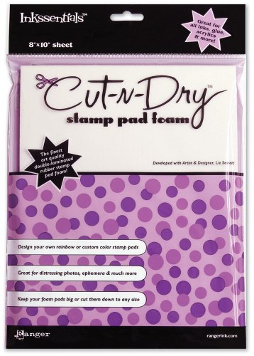 N-dry Cut Foam (Brand New Inkssentials Cut-N-Dry Stamp Pad Foam-8