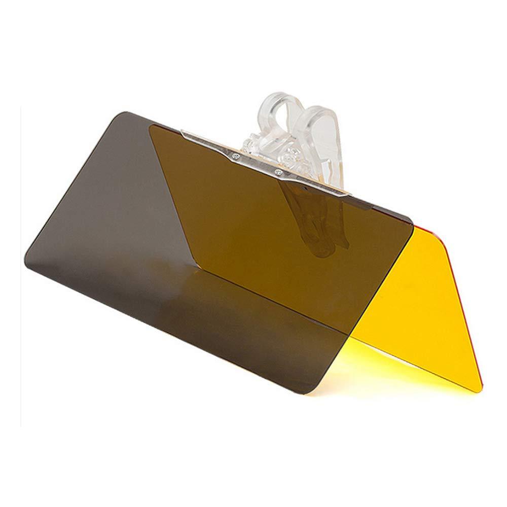 Docooler Blendschutz Visier Auto Sonnenblende Verl/ängerung Auto Blendschutz Sonnenblende Tag//Nacht Fahren HD Visier Faltbare Auto Frontscheibe Windschutzscheibe Sonnenschutz