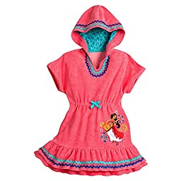 Disney Elena of Avalor Swim Cover-Up for Girls - Size 7/8 Pink