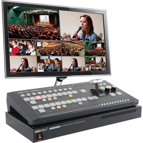 Datavideo SE-1200MU 6 Input Switcher with RMC-260 Controller by Datavideo