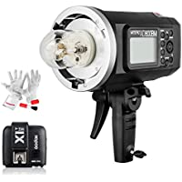 Godox AD600BM 600Ws GN87 1/8000 HSS Outdoor Flash Strobe Monolight with X1T-S TTL Wireless Flash Trigger and 8700mAh Battery for SONY DSLR Cameras with MI Shoe Like A77II A7RII A7R A58 A99 ILCE6000L