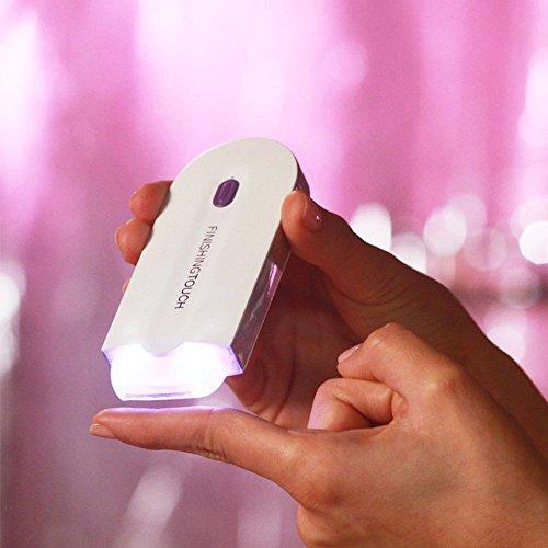 Afeitadora Depiladora táctil Instant dolor Sensor électriqu mujeres tipo de inducción de afeitar 100% impermeable (color blanco): Amazon.es: Salud y cuidado ...