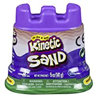 Kinetic Sand Single Container Building Kit, Green