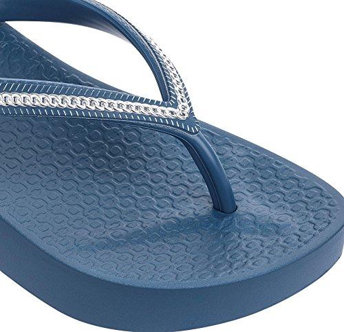 Wedge Blue gold Black Womens Flops Flip Ipanema Mesh f0ZSwc