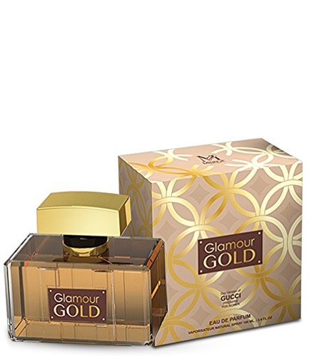 Glamour Gold Perfume Inspired by G u c c i Premier For Women - Eau De Parfum 3.4 FL.Oz. / 100M Mother and Wife Scent and Odor Spray