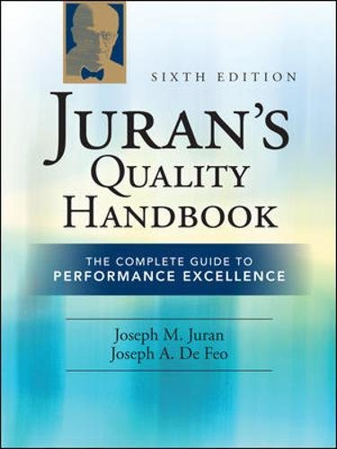 Juran's Quality Handbook: The Complete Guide to Performance Excellence 6/e by McGraw-Hill Education