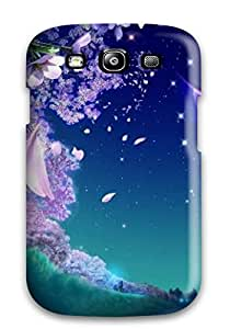 Galaxy S3 Case Cover Skin : Premium High Quality Night Flower Case