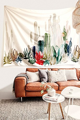 cactus-landscape-wall-tapestry-fabric-wallpaper-home-decor60x-80twin-size