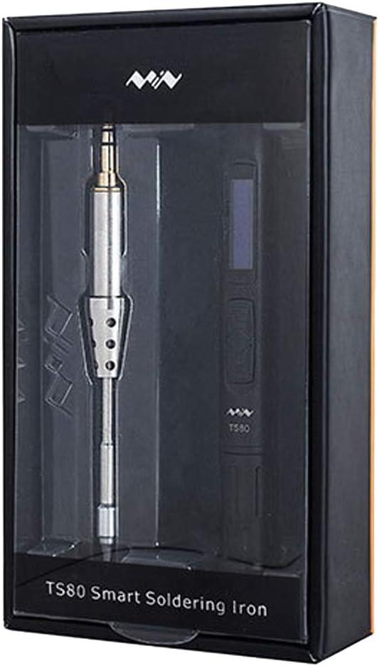 gazechimp OLED Mini TS80 Smart Soldador Digital USB Tipo-C Aleación De Herramienta De Soldadura