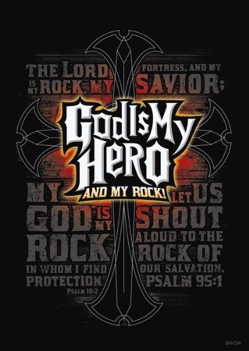 my hero is god