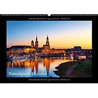 Barockperle Dresden (Wandkalender 2013 DIN A2 quer): Elbflorenz in Sachsen (Monatskalender, 14 Seiten)
