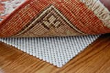 Firm Hold Non Slip Thin Area Rug Pad 9' X 12' for Hardwood Floors