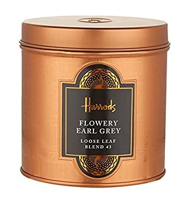 Harrods de Londres – Flowery Earl Grey – regalo Caddy 4.4oz ...