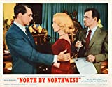 North by Northwest Hitchcock Movie Original Lobby card