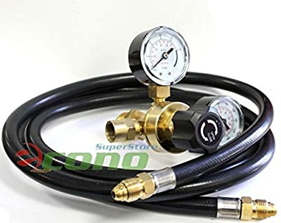 "Co2 Regulators Gauges & 80"" Hose 4 Welding Cga580 Miller Lincoln Mig Tig"