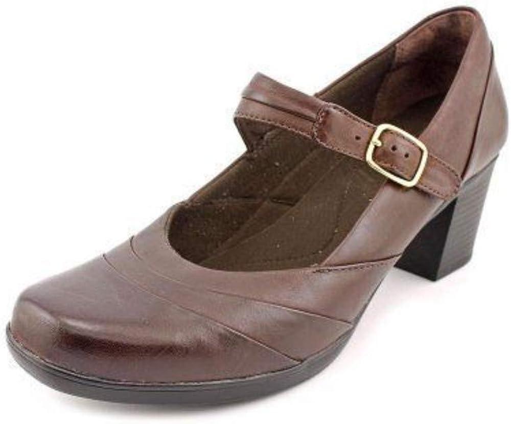 Clarks Women's Scheme Day Brown Leather