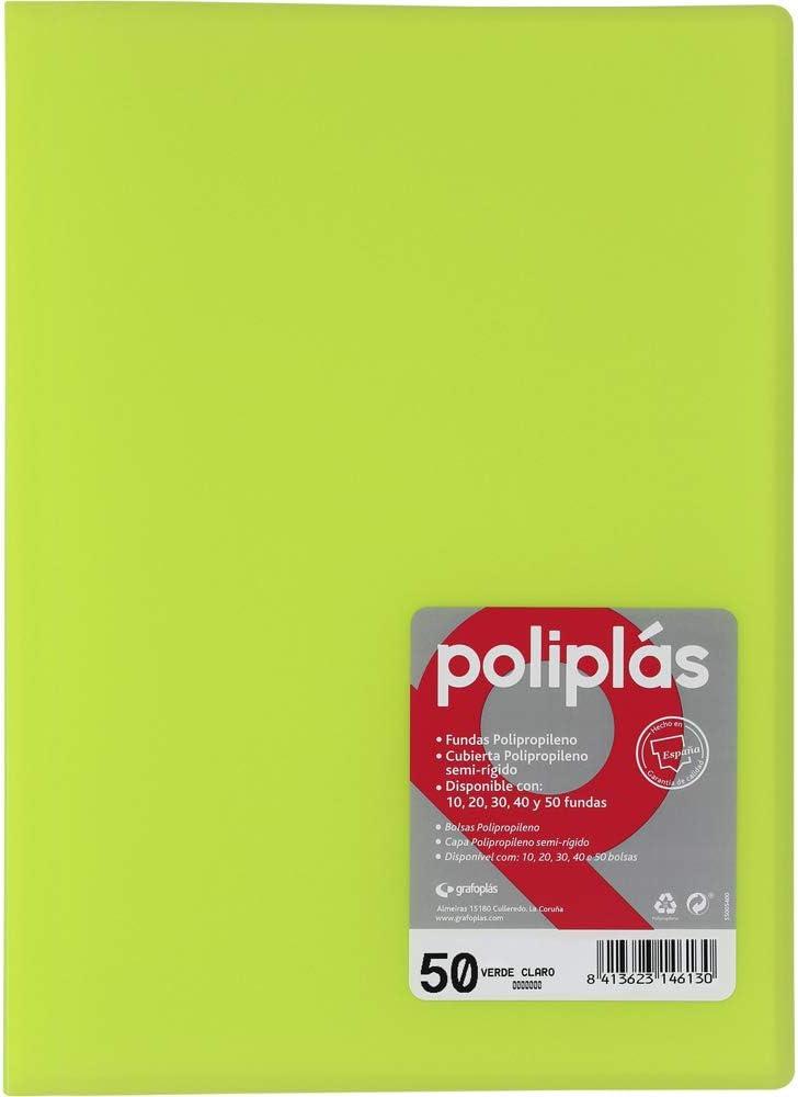 Tapas /Folder Foolscap grafoplas/ PP polipl/ás Translucent 30 Blue